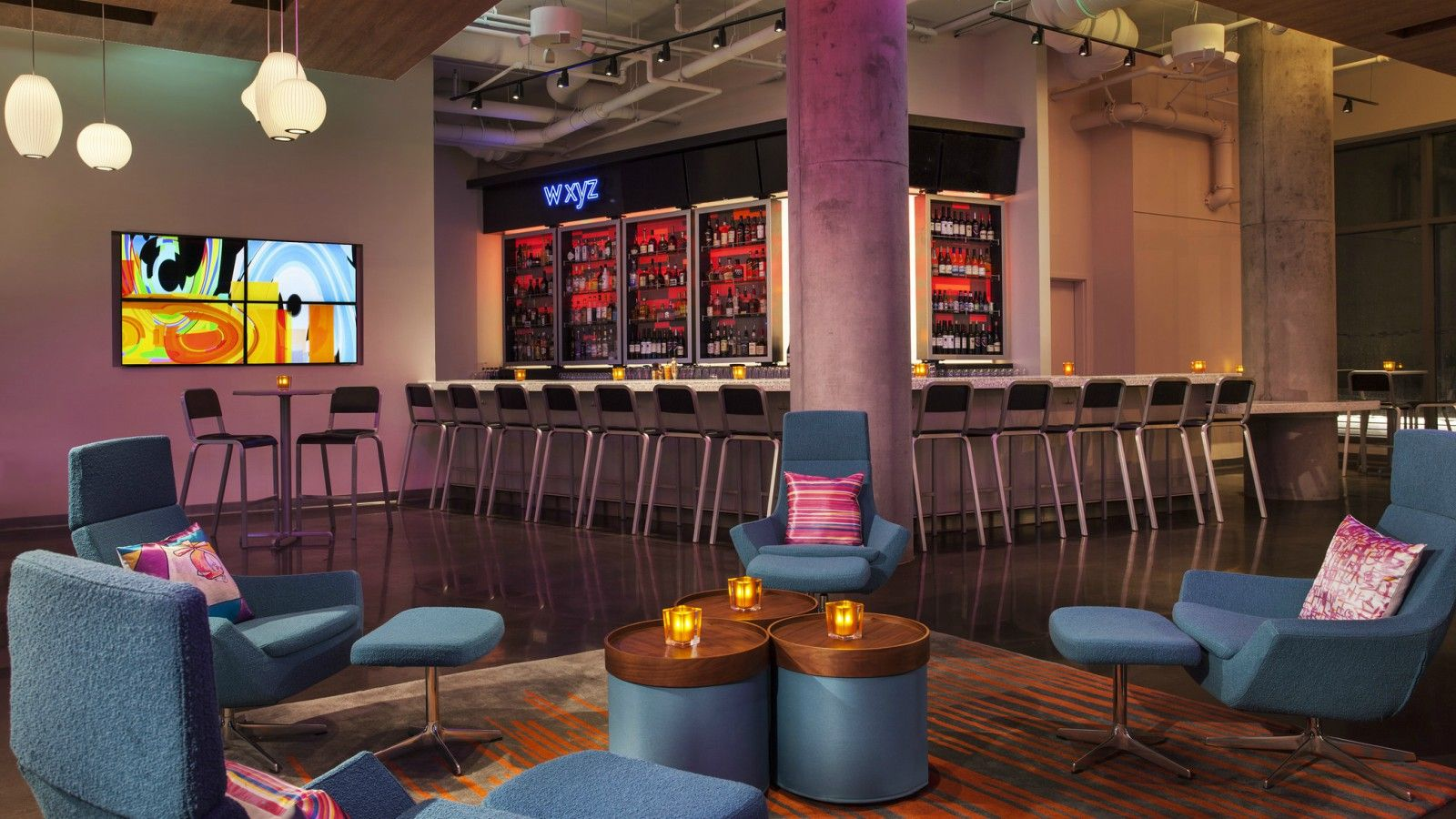 Boston Wedding Venues - W XYZ bar